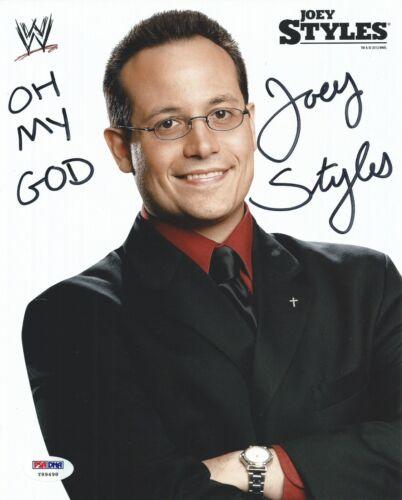 Joey Styles Signed WWE 8x10 Photo PSA//DNA COA ECW Hardcore TV Picture Autograph