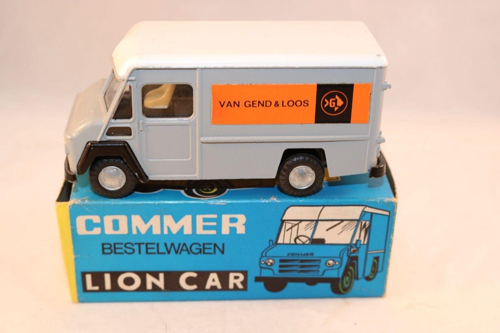 Lion Car No.54 Commer Bestelwagen Van Gend & Loos near mint in rare bleu box