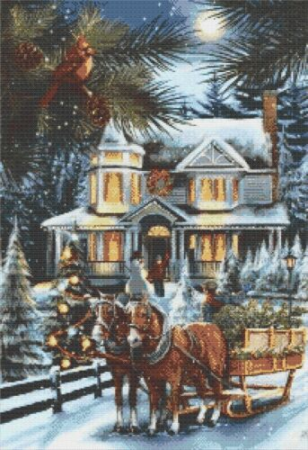 Il Natale a Manor-counted cross stitch chart