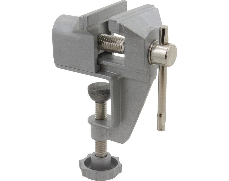 tornillo de banco para bricolaje herramienta de reparaci/ón fija de moldes para manualidades Ba30DEllylelly Mini tornillo de banco de mesa de aleaci/ón de aluminio de 35MM