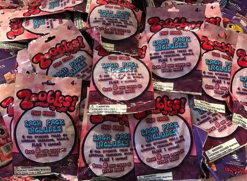 Zoobles AMUSANT PACKS DE TAUREAUX je Toy 24 Scellé-Packs