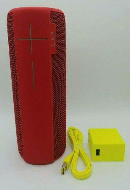 New UE MegaBoom Lava Red 360º  Sound Wireless Bluetooth Speaker