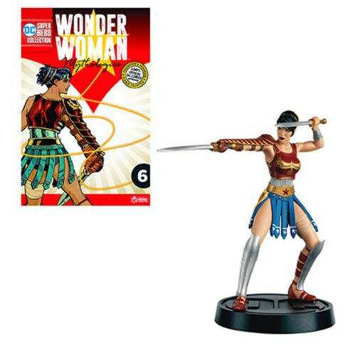 FIGURE NEW EN STOCK environ 12.70 cm Eaglemoss DC Wonder Woman mythologie Divine 5 in