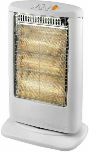 1200 Oscillant Halogène Chauffage avec 3-4 Chauffage Paramètres avec télécommande