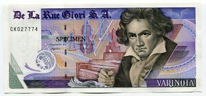 De-La-Rue-Giori-Specimen-Test-Trial-UNC-Banknote-Beethoven-Varinota-Black-Serial