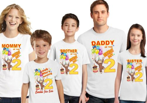 Curious George Party Supplies Curious George Birthday Curious George Shirt