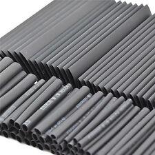 127Pcs Black Glue Waterproof Heat Shrink Sleeving Tubing Tube Assortment Kit G