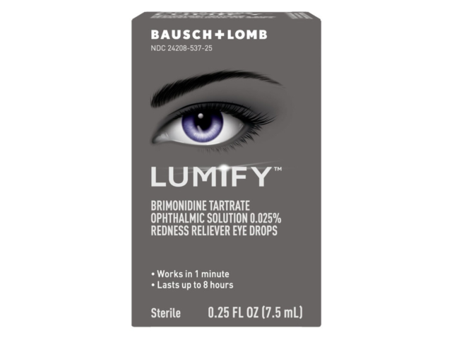 Bausch Lomb LUMIFY .25oz 6/22 Expiration 0.025 Solution 7.5ml Eye Drops  - $18.50