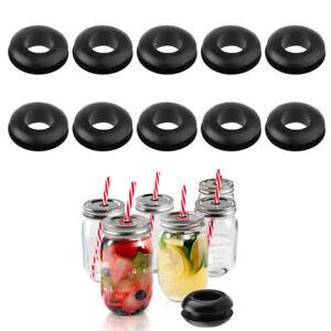 10Pcs-Silicone-Sealing-Washers-Grommet-for-Mason-Jar-Fermentation-Airlock-Lids
