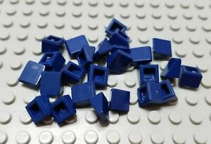 New LEGO Lot of 6 Dark Blue 1x1x2//3 Mini Slopes Part and Pieces