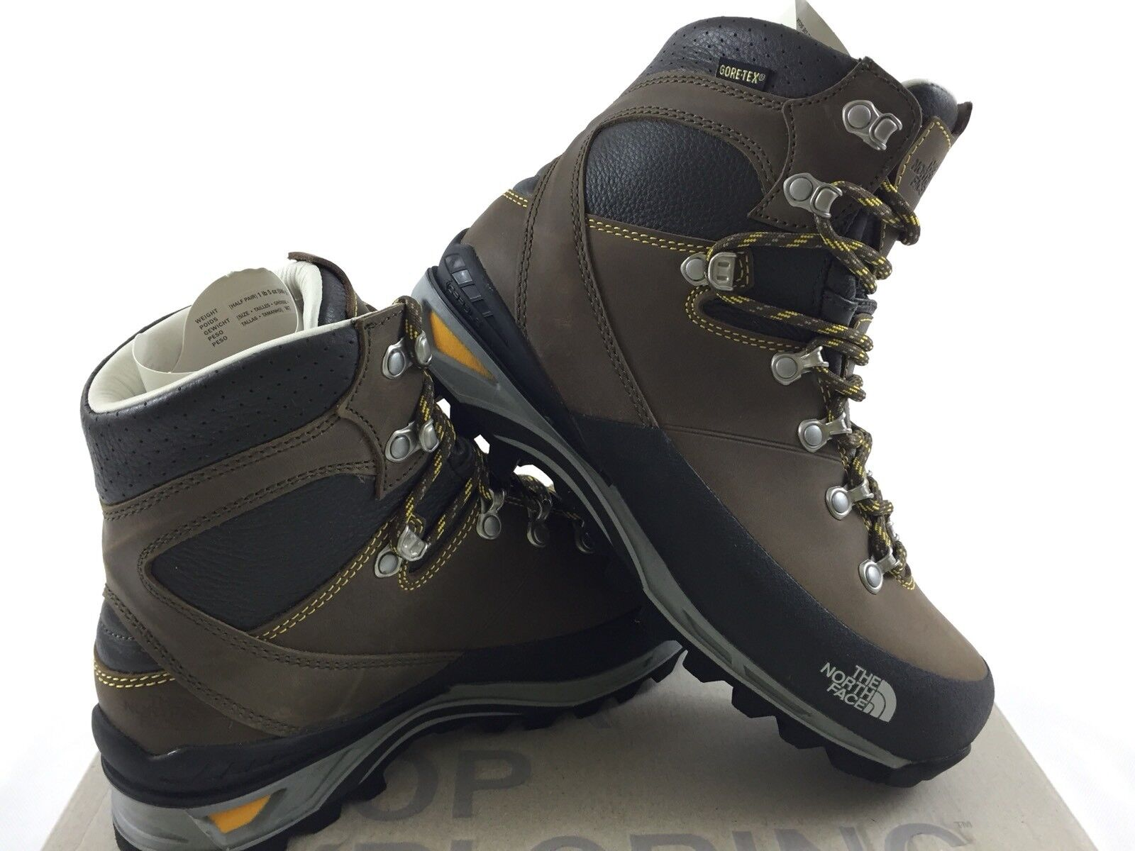THE NORTH FACE VERBERA BOOTS GTX GORE-TEX VIBRAM WOMEN SHOES NEW SIZE 37