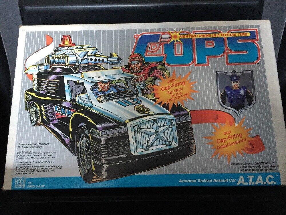 Cops N Crooks A.T.A.C. Armerad taktisk attackbil med tungviktslådaning ATAC MISSB