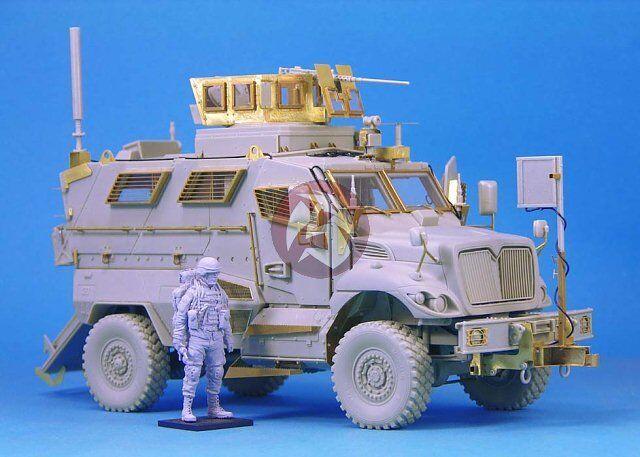 Legend Productions 4x4 MRAP Truck Resin 1 35 Scale Armor Model Kit LF1235
