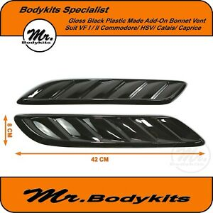GLOSS-PLASTIC-BONNET-VENT-1-1-FIT-HOLDEN-COMMODORE-VF-CAPRICE-CALAIS-CHEVY-SS