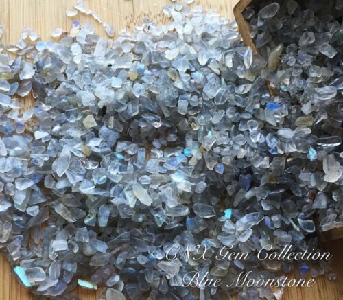 Tumbled Gemstone Natural Crystal Moonstone Chipstones 5g Birthstone Extra Tiny