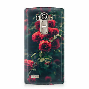 Rojo-Sangre-ROSAS-Funda-de-telefono-Gotico-Verdadero-Amor