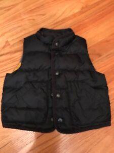 9b57ffa17c4e baby gap infant toddler boys 12-18 month navy blue puffer vest