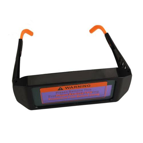 New Solar Powered Auto Darkening Welding Glasses Helmet Mask Eyes Goggle Welder