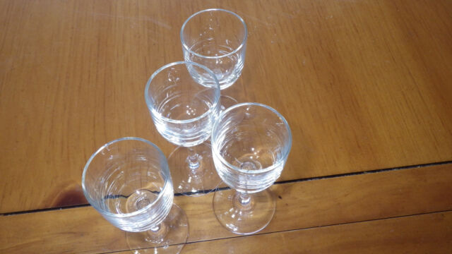 Clear Glass Cordial Stems Glasses Aperitif glasses stems 4 2 ounce