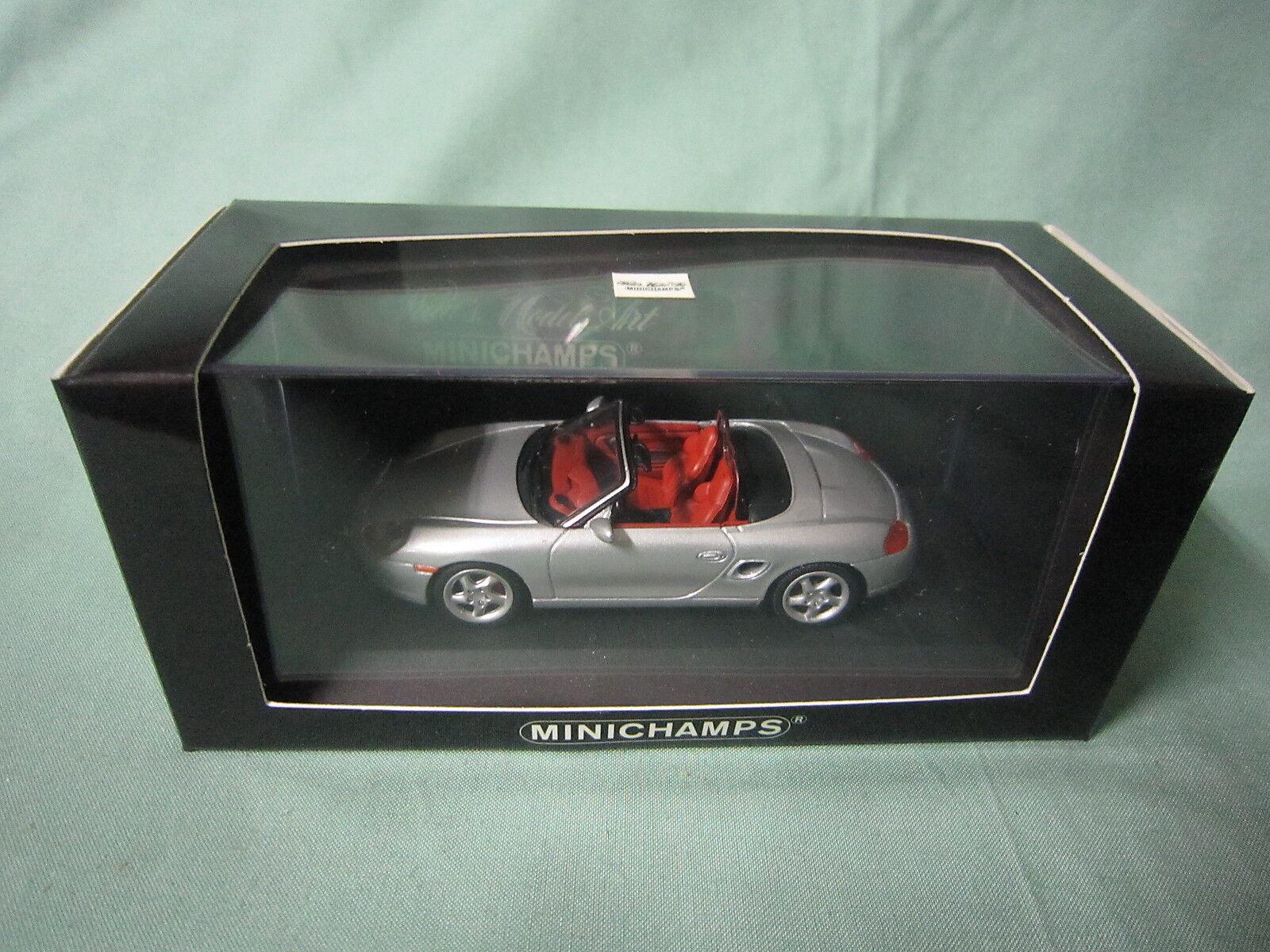 DV4944 MINICHAMPS PORSCHE BOXSTER S 1999 Ref 430068030 1 43 NB