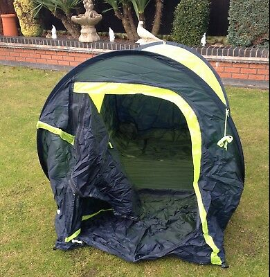 New Gelert Quick Pitch Compact 2 Two Person Tent Festival Camping Outdoor Hiking | eBay