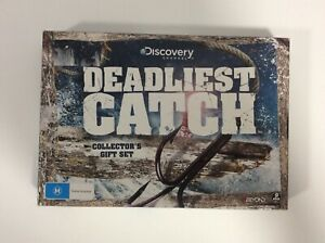 Deadliest-Catch-Collector-s-Gift-Set-9-Disc-Set-R4-Excellent-Condition