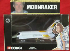 JAMES BOND CORGI MOONRAKER SHUTTLE