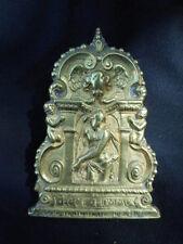 Baiser de paix Osculatoire en bronze Christ aux outrages époque baroque(XVII°)