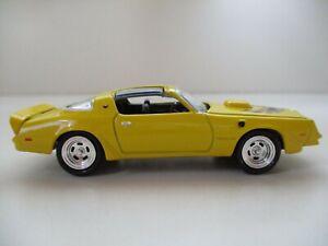 1978 78 PONTIAC FIREBIRD TRANS AM T//A 1:64 SCALE COLLECTIBLE DIECAST MODEL CAR