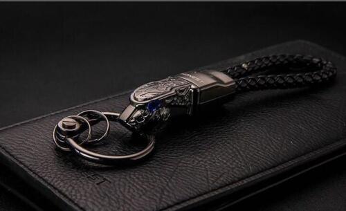alloy leopard car key chain For Lamborghini Huracan Aventador Urus Asterion