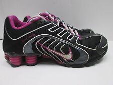 Women's Nike Shox Size 7.5 Pink/Purple And Black