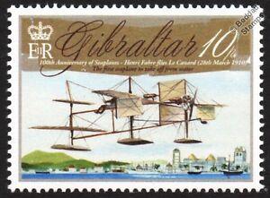 Henri-Fabre-LE-CANARD-1910-First-Seaplane-Aircraft-Stamp-2010-Gibraltar