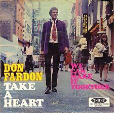 "7"" Don Fardon (The Sorrows) – Take A Heart / MOD FREAKBEAT // Germany 1968"