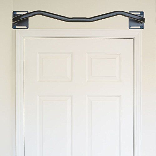 Mounted Pull Up Bar Above Door Way Frame Home Gym Work Out Exercise  Equipment | EBay