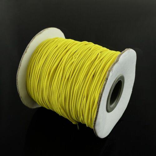 5 mètres 5M 1mm Fil élastique env Fibre Stretch coloris au choix