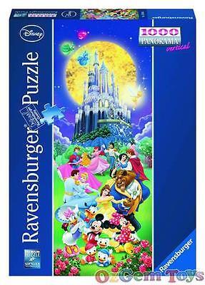Disney Castle Ravensburger Panorama Jigsaw Puzzle 1000 Piece