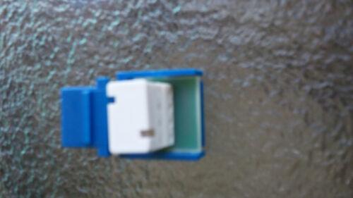 RJ11 Cat3 4C Telephone Keystone Jack DSL//Phone Blue USA Seller 10