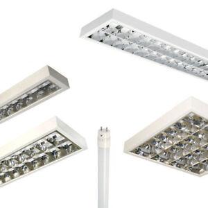 LED Set Anbauleuchte, Büroleuchte, Rasterleuchte (BAP)