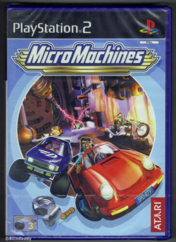1 of 1 - PS2 Micro Machines (2002), UK Pal, New & Sony Factory Sealed
