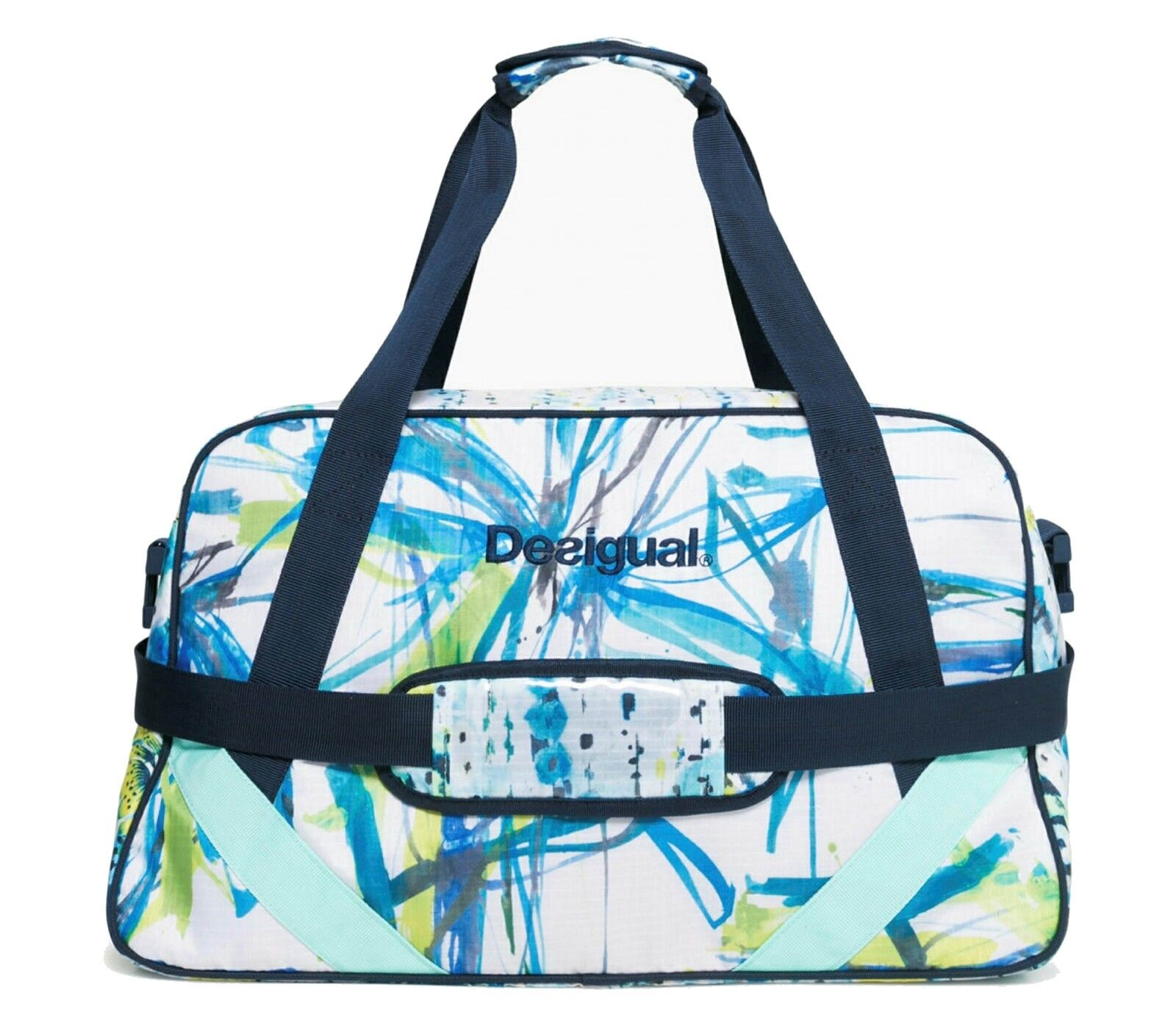Desigual Luminescent Carry Shoulder Bag whiteo