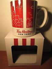 Tim Hortons NEW YORK  Travelers Coffee Mug  Limited Edition SERIES 1 NEW