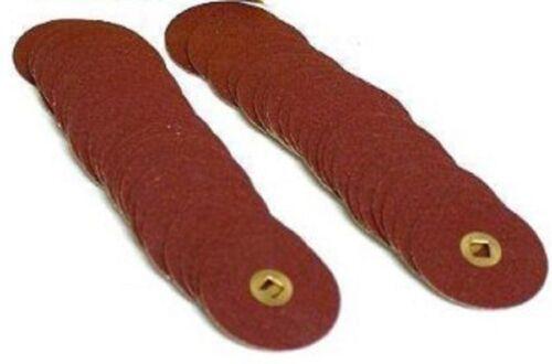 Moore®BRASS CENTER SNAP OFF MEDIUM 100 discs ab62 E.C