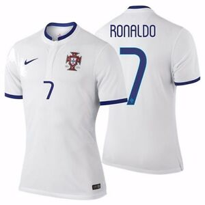 finest selection ba8db 1a753 Details about NIKE CRISTIANO RONALDO PORTUGAL AUTHENTIC AWAY JERSEY FIFA  WORLD CUP BRAZIL 2014
