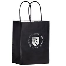 100 Custom Gloss Color Twisted Paper Handle Shopper Bag Printed With Logo Message