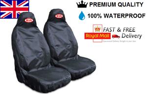 BLACK KIA SORENTO PREMIUM CAR SEAT COVERS PROTECTORS 100/% WATERPROOF