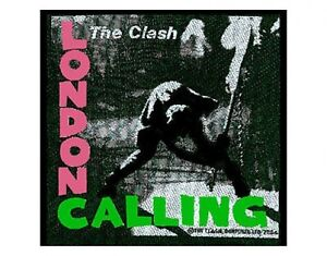 CLASH-london-calling-2004-WOVEN-SEW-ON-PATCH-official-merchandise
