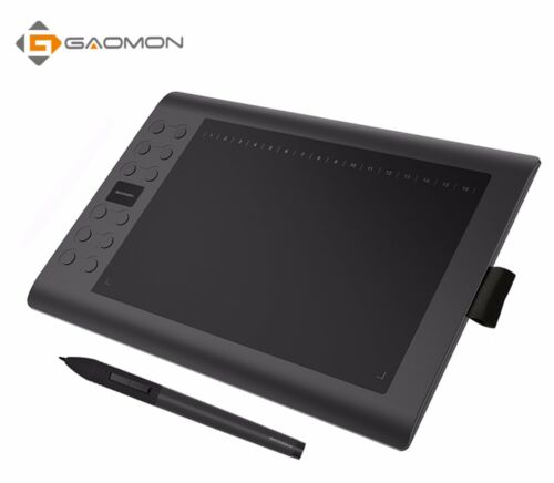 GAOMON M106K Professional 10 Inch Graphic Tablet Drawing USB Digital 2048 Levels