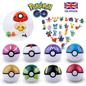 Pokemon-Pokeball-Pikachu-Figures-inside-Toy-Kids-Poke-UK-STOCK-FAST-amp-FREE