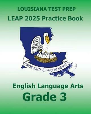 Louisiana Test Prep Leap 2025 Practice Book English ...