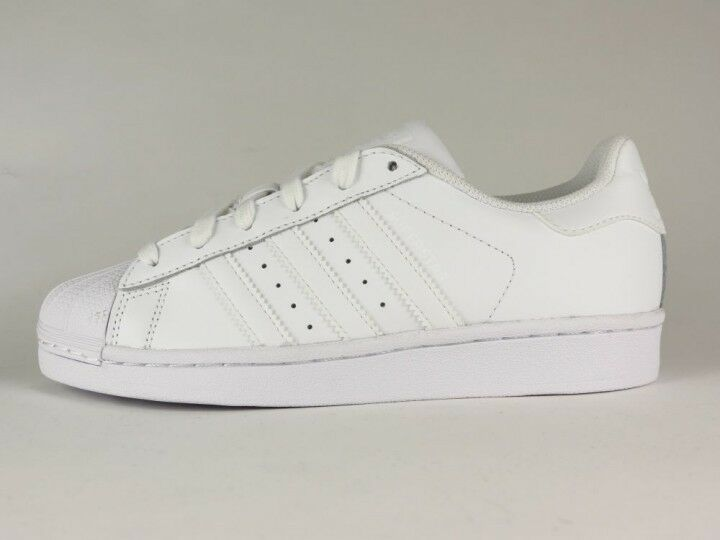 adfd92bcca555 70%OFF Adidas Superstar Foundation - Leather Trainers - B27136 - FTWWHT -  white NEW
